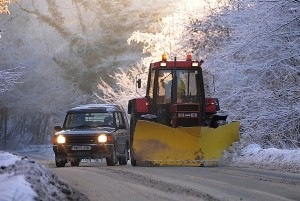 Winter driving is a significant hazard for workers