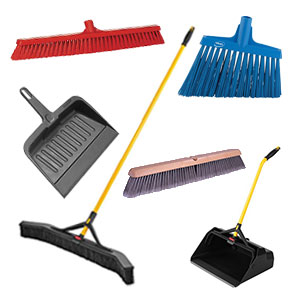 Shop Brooms, Dustpans and Handles