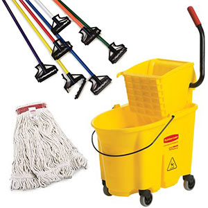Shop Mops, Handles and Wringers
